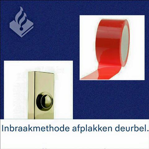 Photo of Deurbel afgeplakt? Let op: het is een bekende inbraakmethode in Zwolle