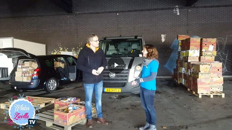 Photo of Kerstpakkettenactie heeft op dag 1 al bijna 20.000 producten ingezameld