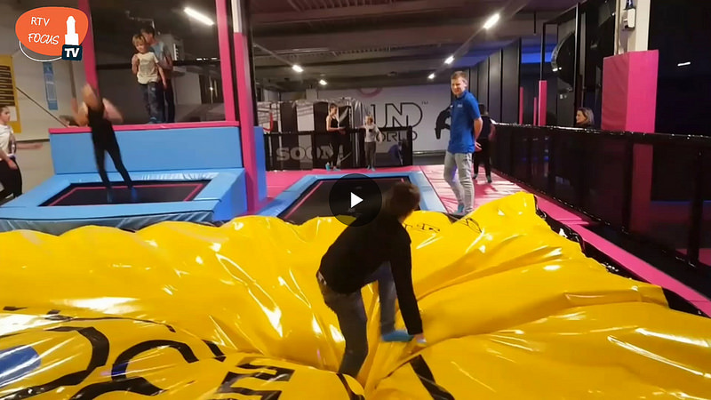 Photo of VIDEO | Trampolinepark Rebound World Zwolle officieel geopend