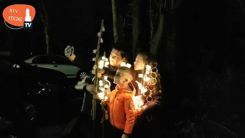 Photo of [Video] Lichtjeswandeling Engelse Werk was een groot succes