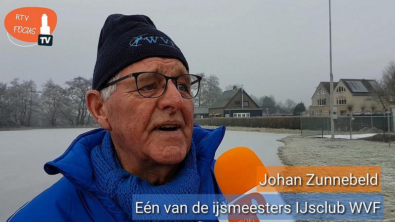 Johan Zunnerbeld - Eén van de ijsmeesters van IJsvereniging WVF uit Westenholte