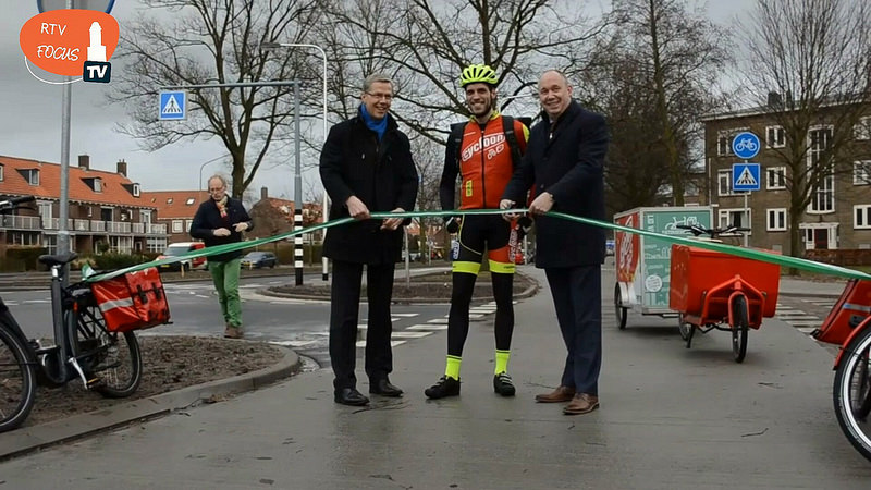 Photo of Tweezijdig breed fietspad Meppelerstraatweg geopend