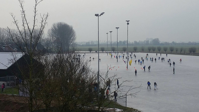 Photo of Het kon heel eventjes; schaatsen op de IJsbaan van Westenholte