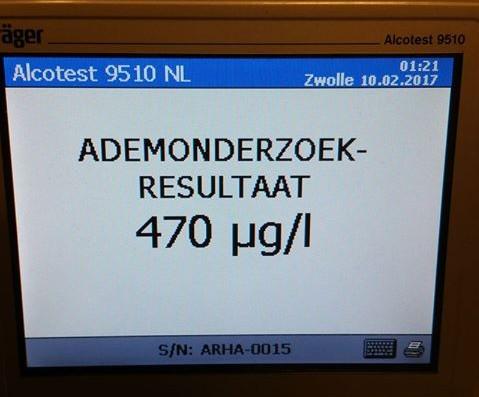 Foto: © Verkeerspolitie Overijssel
