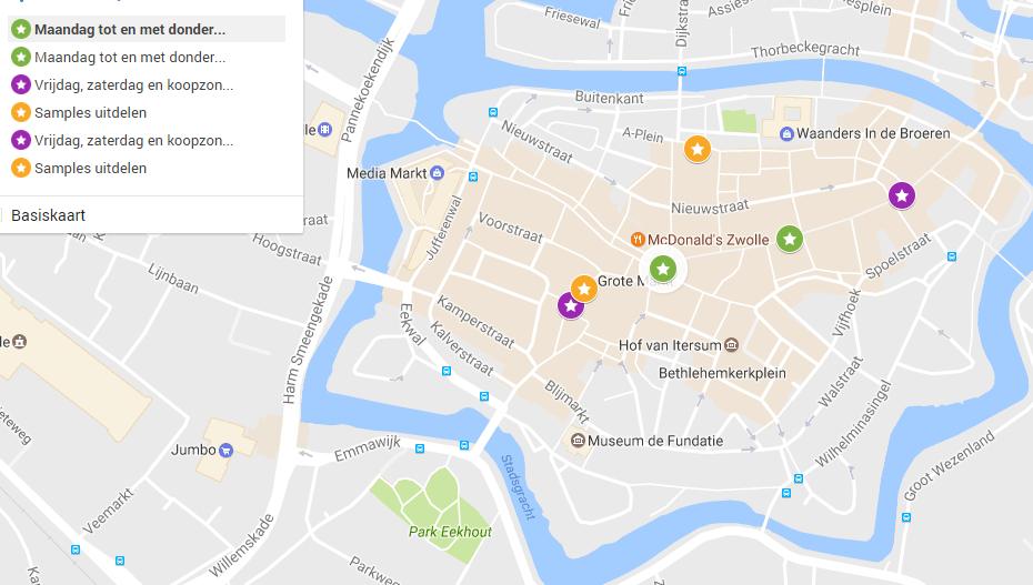 Photo of Straatverkoop in Zwolle aan banden; 6 eilandjes in binnenstad