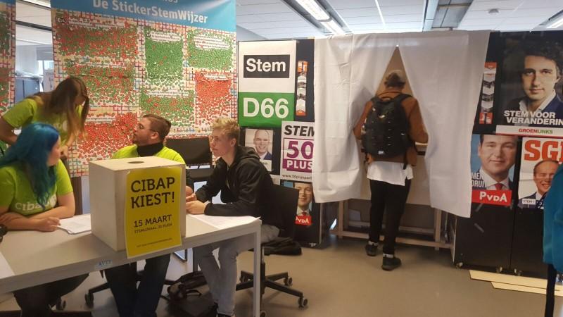 Photo of Cibap schaduwverkiezing laat jongeren onder de 18 stemmen