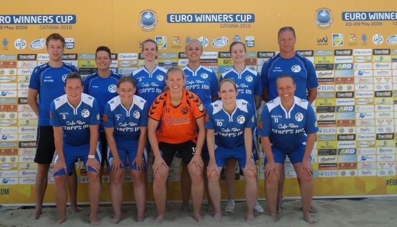 Photo of HTC Zwolle BeachSoccer dames nemen weer deel aan de Euro Winners Cup