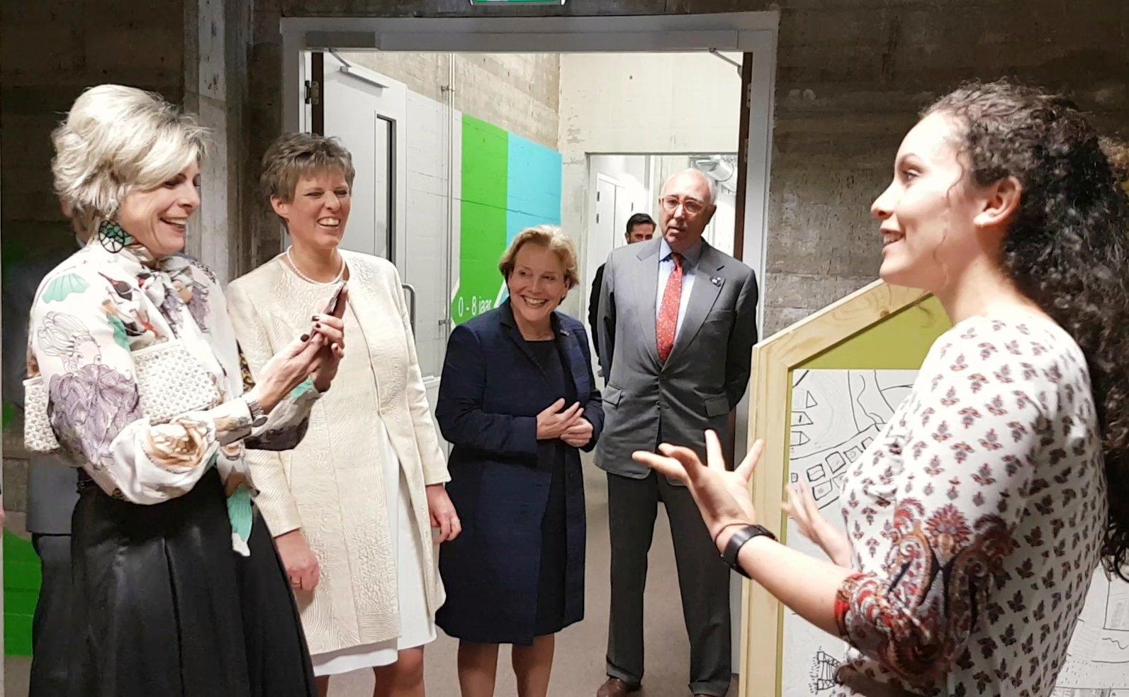 Photo of Prinses Laurentien opent nieuwe Stadkamer aan de Zeven Alleetjes