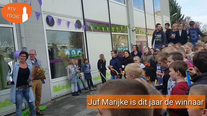 Photo of Video – Juf Marijke SBO Het Speelwerk Zwolse Conciërge van het Jaar 2017