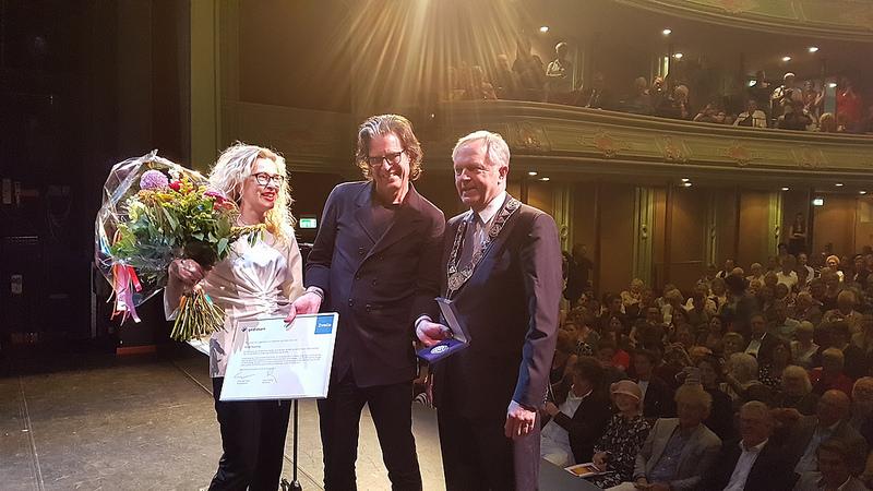 Photo of Visie en durf Ralph Keuning bekroond met erepenning van Zwolle