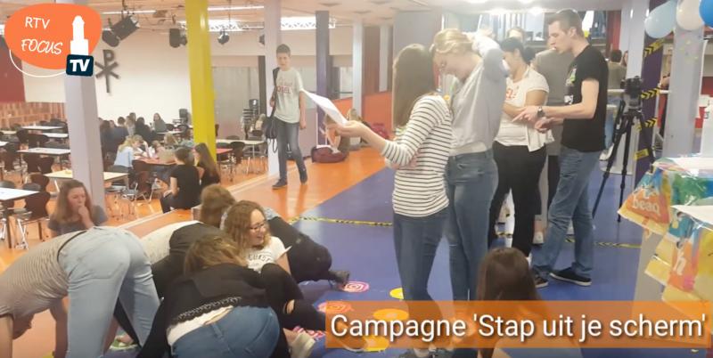 Photo of Campagne 'Stap uit je scherm' maakt Meander scholieren bewust van Social Media gebruik