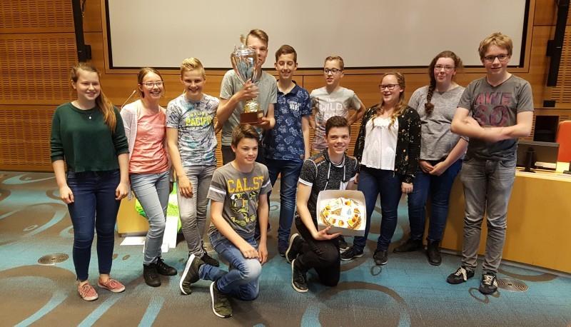 Photo of Cibap en Greijdanus College uit Zwolle strijden tegen elkaar in de finale van Adviseurs van de Toekomst