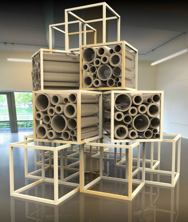 Photo of Windesheimstudenten bouwen biologisch afbreekbaar pop-up museum