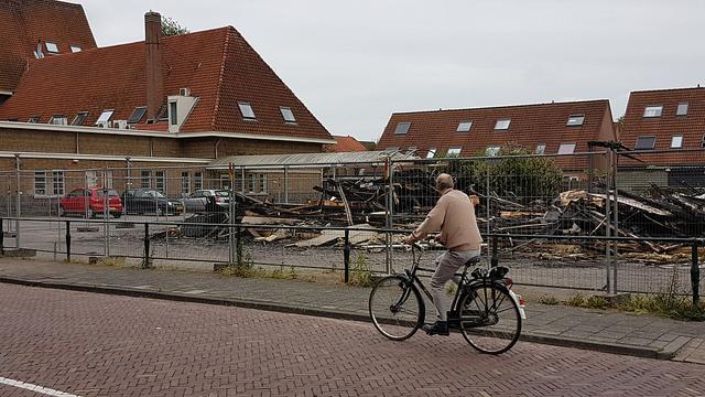 Photo of Niets over van afgebrand gebouwtje in Kamperpoort