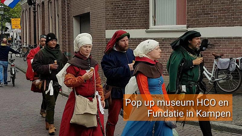 Photo of ►Pop-up museum Historisch Centrum Overijssel liet ontwikkeling Hanze zien