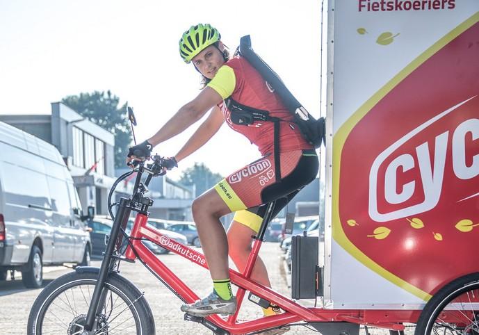 Photo of Cycloon fietskoerier directeur Snoek in lijst 100 groene vernieuwers