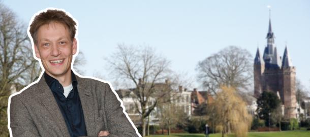 Photo of Michiel van Willigen van ChristenUnie wordt voorgesteld als nieuwe wethouder