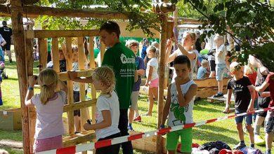 Photo of 350 kinderen bouwen mee aan Huttendorp Stadshagen