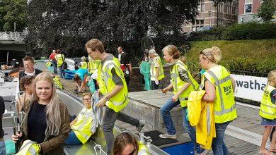 Photo of Plastic uit Zwolse stadsgracht voor duurzame festival muntjes