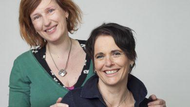 Photo of Bezoek van Janneke Schotveld tijdens Kinderboekenweek bij Waanders In de Broeren