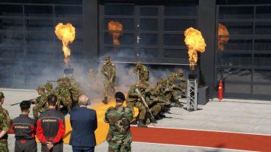 Photo of Hoog militair bezoek bij opening nieuw gebouw voor defensie-opleidingen van Deltion College