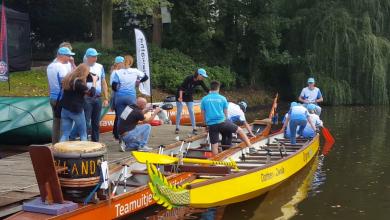 Photo of Video – Drakenbootrace levert 5.000 euro op voor Jeugd Sport Fonds