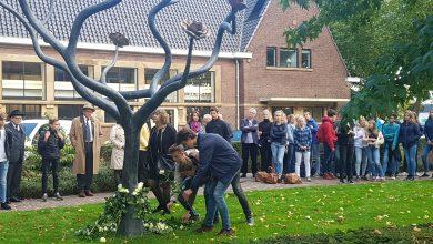 Photo of Gymnasium Celeanum herdenkt deportatie Joodse Zwollenaren