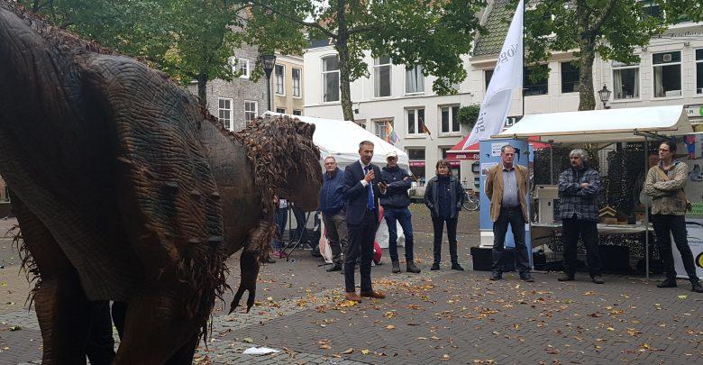 Photo of Dierenwelzijnsmarkt op het Grote Kerkplein in Zwolle