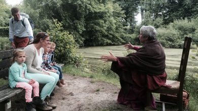 Photo of Ademloos luisteren bij cursus 'Verhalen vertellen'