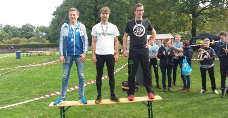 Photo of Thoriaan Hugo Martijn 3e op  NK studenten Survivalrun