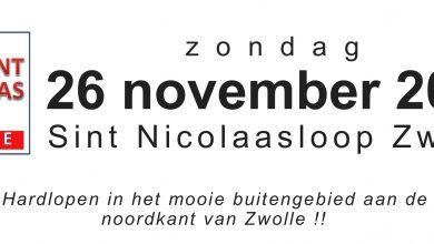 Photo of Sint Nicolaasloop afsluiting van Zwols hardloopjaar