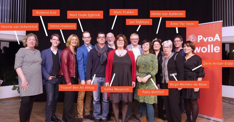 Photo of Kandidatenlijst PvdA Zwolle is bekend