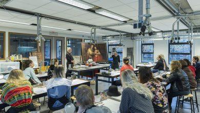 Photo of 3D-print 'Het Joodse Bruidje' en Selfie schilderen als Rembrandt bij Cibap