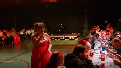 Photo of Video – Geweldig mooi kerstfeest in de WRZV hallen voor 500 Zwollenaren