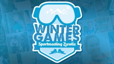 Photo of 'Winter Games' thema Sportmeeting Zwolle