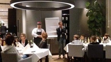 Photo of Winnende groep 8 van Op Weg uit Haarle dineert bij Deltion