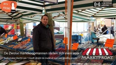 Photo of RADIO Märktproat #1- 'De Zwolse marktkoopmannen stellen zich even voor'