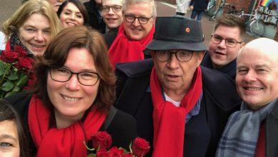 Photo of PvdA op bezoek in de Wipstrik