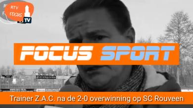 Photo of Video – John Beijen trainer ZAC na de 2-0 overwinning op SC Rouveen