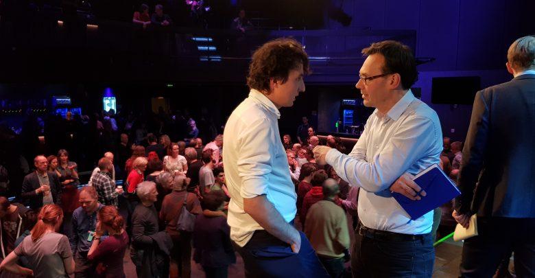 """Photo of Jesse Klaver bij Hedon Zwolle: """"Lelystad Airport: Geen uitstel maar afstel"""""""