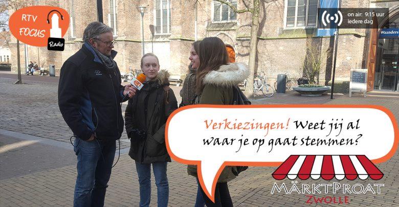 """Photo of RADIO Märktpraot #7 – """"Weet u al waar u op gaat stemmen?"""""""