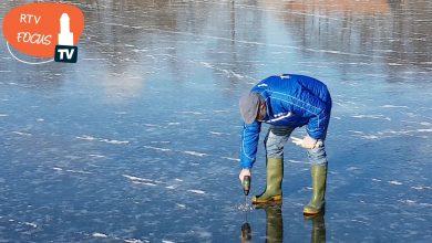 Photo of IJsvereniging WVF: 'Het ijs komt steeds dichterbij'; 4,2 tot 5 cm