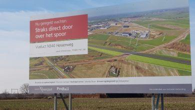 Photo of Luister terug – Bouw spoorviaduct in nieuw tracé Zwolle-Ommen van start