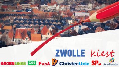 Photo of Live stream vanuit het Stadhuis:  Uitslagenavond Gemeenteraadsverkiezingen Zwolle