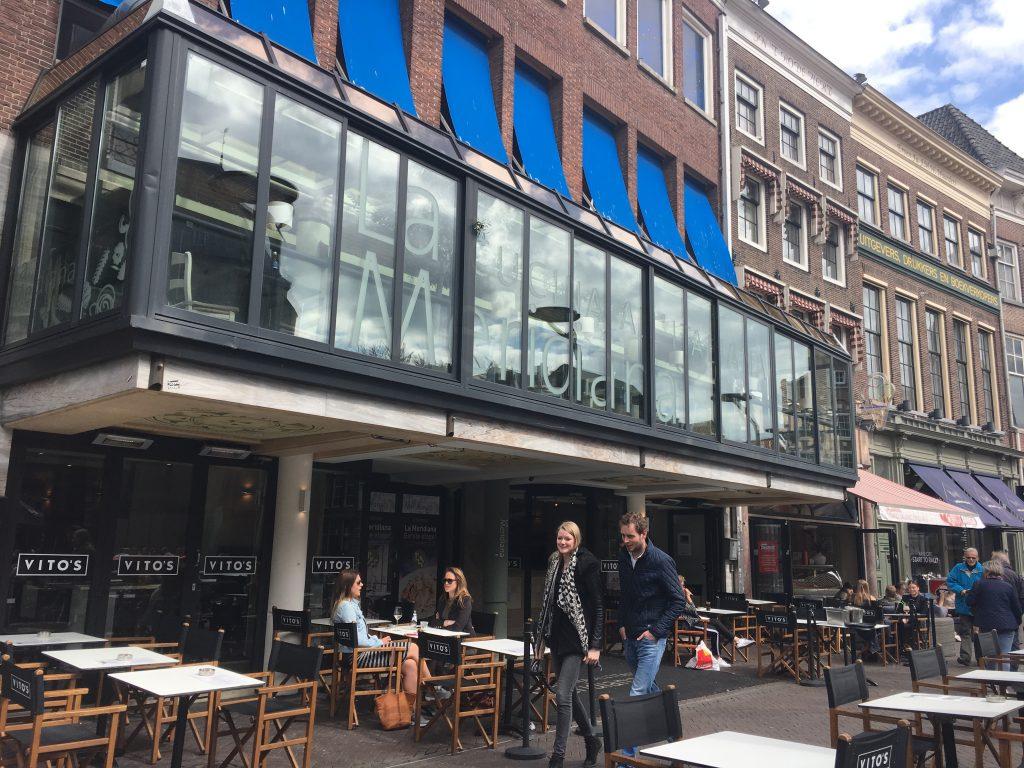 Vito's aan de Grote Markt in Zwolle