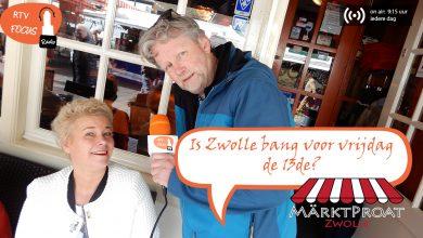 """Photo of RADIO Märtkpraot #12: """"Vrijdag de 13de: Hoe bijgelovig is Zwolle?"""""""