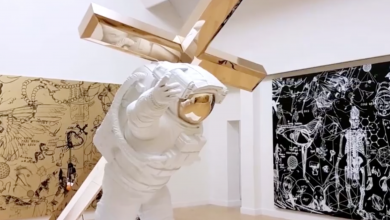 Photo of Video – Studenten Cibap gingen in gesprek met kunstenaar Joseph Klibansky