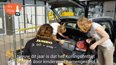 Photo of Video – Jumbo Veemarkt heeft het druk met de Koningsontbijtpakketten