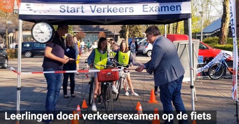 Photo of Praktisch verkeersexamen voor leerlingen groep 7 en 8 Zwolse basisscholen
