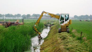 Photo of Sloten en oevers maaien voor goede aan- en afvoer van water